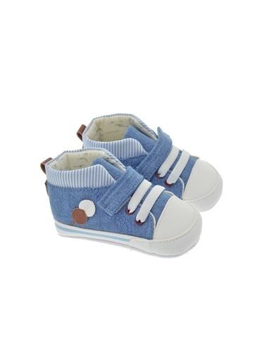 Freesure 211821 L.Jean Freesure Erkek Bebek Patik Bebek Ayakkabı  Mavi